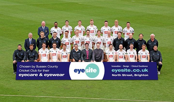 Eyesite sponsored cricket