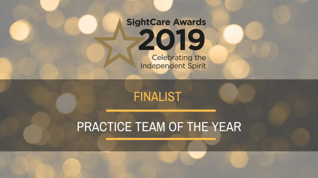 SightCare Practice Team of the Year Award